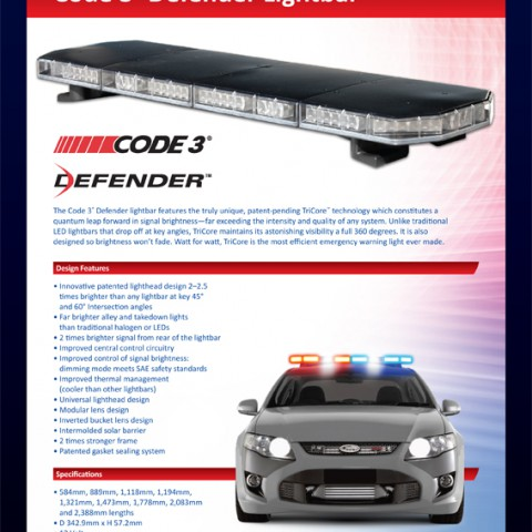 Code3 Defender Lightbar 480x480 brochures esg asia pacific code 3 defender lightbar wiring diagram at nearapp.co