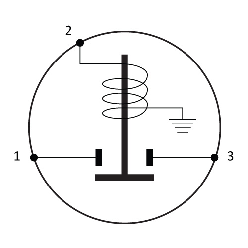 Solenoid Diagram 3 Terms Grounded Earth Circui