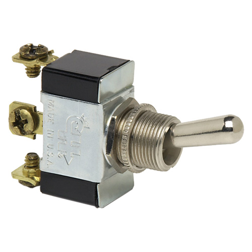 SPDT On/On Screw Toggle Switch