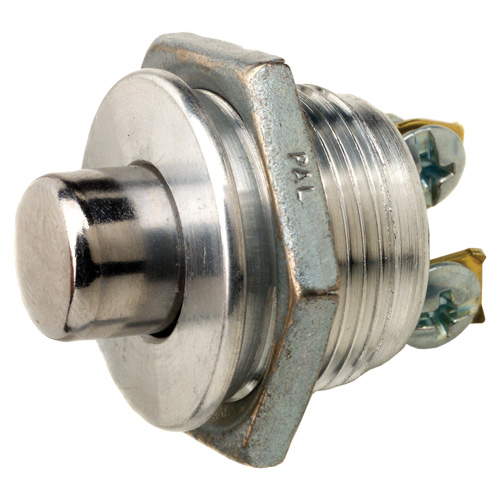 SPST Off/Mom On Screw Push Button Switch