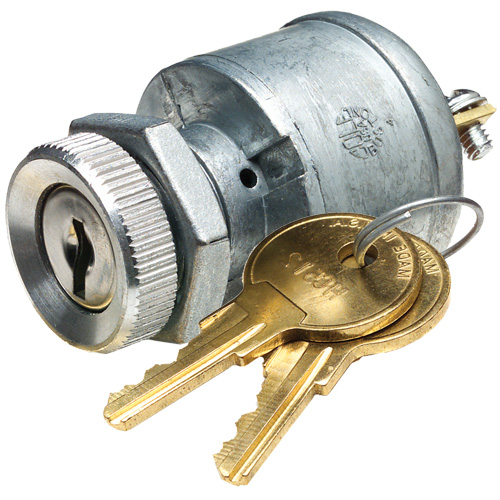 4 Position Heavy Duty Ignition Switch