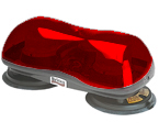 Dual suction magnet minibar RED