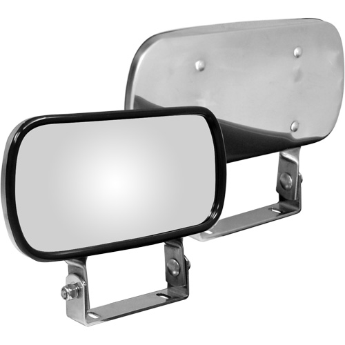 Stainless Steel Convex Spotter Mirror W210