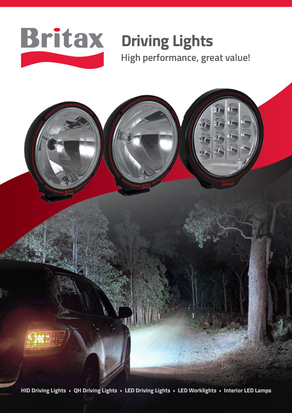 Britax Lighting Release – LED HID and QH Driving Lights