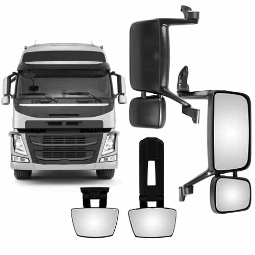 Mirror Heads and Spotters to suit Volvo FM/Volvo FH/Volvo FH12 /Volvo VNM,VNL,VNX, VND,VAH