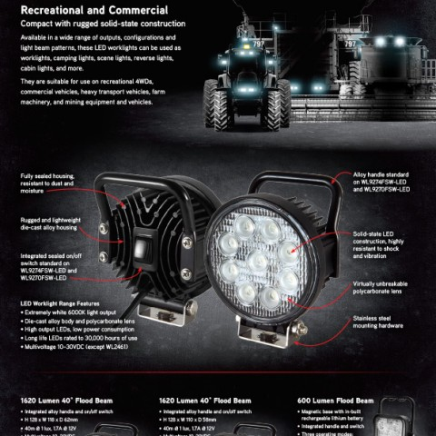 Xray Vision LED worklights