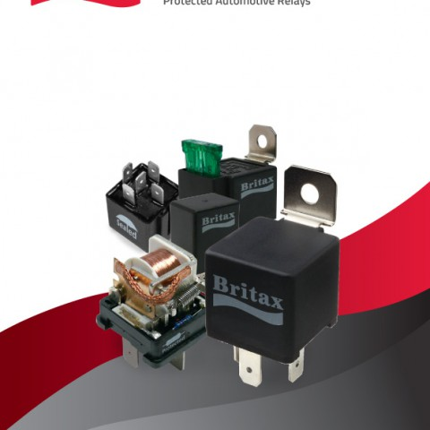 Britax relays and relay bases Automotive relays IP67
